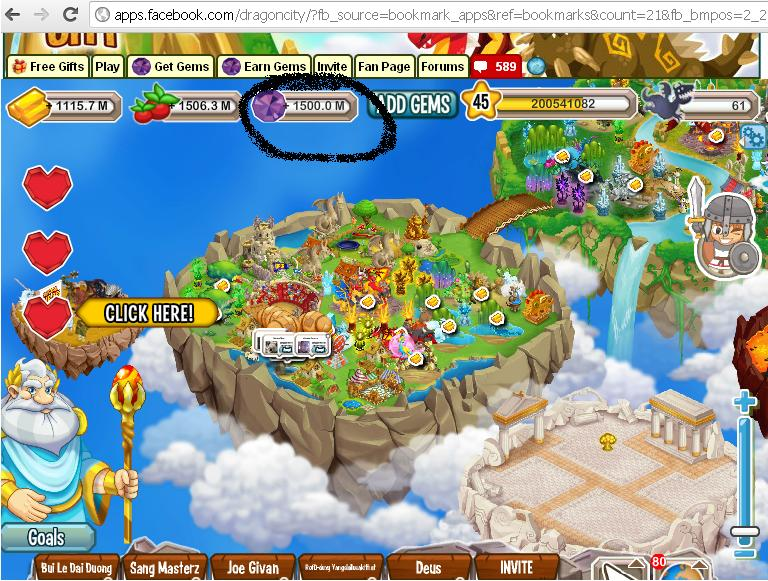 How to get much gems without tools in Dragon City ( cara